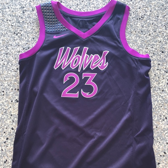 new style d1d59 fca5d Jimmy butler Nike timberwolves city jersey 2018 NWT
